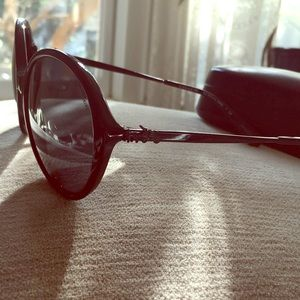 Coach 8214 black sunglasses black new